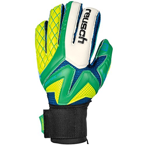 Reusch Torwarthandschuhe Waorani Pro SG Ortho-Tec 3470801 10.5 irish green/safety yellow/irish green (Torwart-handschuh Reusch)