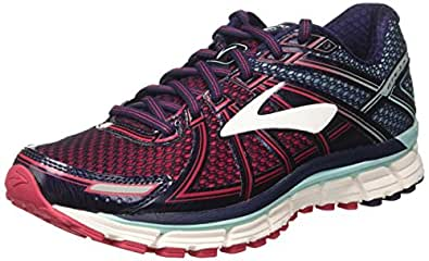 Brooks Adrenaline GTS 17, Scarpe da Ginnastica Donna, Blu (Limpet Shell/Evening Blue/Virtual Pink), 36 EU