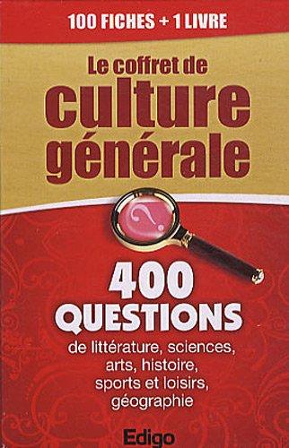 Le coffret de culture générale : 400 questions de littérature, sciences, arts, histoire, sports et loisirs, géographie par Mathieu Doumenge