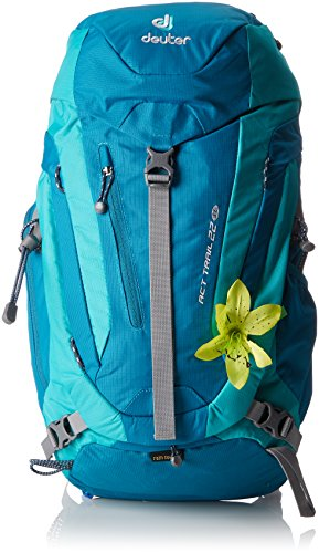 Deuter Damen Rucksack ACT Trail SL, petrol-mint, 56 x 24 x 18 cm, 22 Liter, 344001532170