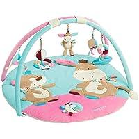 Fehn 3-D-Activity-Decke Teddy – Spielbogen mit 5 abnehmbaren Spielzeugen für Babys Spiel & Spaß von Geburt an preisvergleich bei kleinkindspielzeugpreise.eu