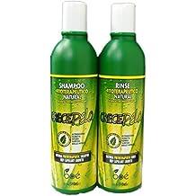 BOE Crece Pelo Shampoo + Rinse 12 oz Combo Set!! by BOE