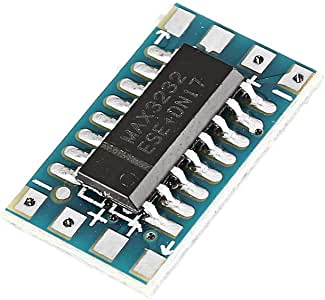 10 pi/èces Mini RS232 TTL Convertisseur Carte Module Adaptateur MAX3232 120kbps 3-5V Port s/érie Ils