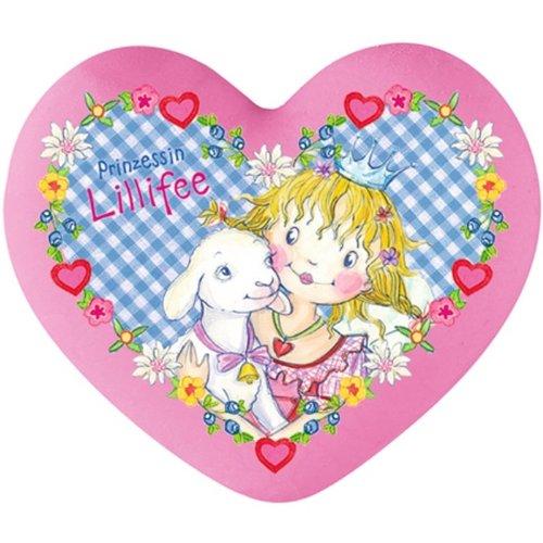 Spiegelburg 21780 Gran Goma de Borrar en Forma de Corazon Rosa de La Princesa Prinzessin Lillifee