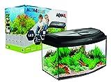 Aquael Aquarium Set AQUA4START inkl. Abdeckung, Filter, Heizer 60x30x30cm (60x30x30 gewölbt)