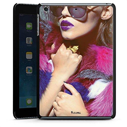 DeinDesign Apple iPad Mini 3 Hülle Schutz Hard Case Cover Frau Sonnenbrille Lippenstift
