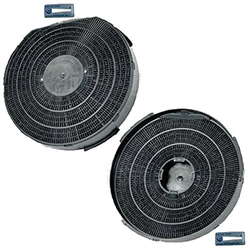 Spares2go Carbón Activo Filtro de ventilación para Ariston ae2m1wh cocina campana extractora...