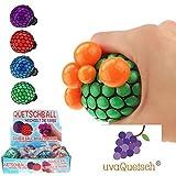 UvaQuetsch ® Quetschball +++ inkl. Geschenkbox +++ 2019 +++ Antistressball Stressball Knetball Quetschi (Zufall)