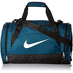 Nike Brasilia 6 Duffel - Bolsa de deporte para hombre, color turquesa, talla M