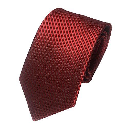 Qiuday Herren Krawatten Mens-klassischer Jacquardwebstuhl gesponnene gestreifte Krawatte Bindungs Party Hochzeits Belts & Accessoires Krawatten-Set Gewebtem Jacquard Taschentuch Manschettenknopf