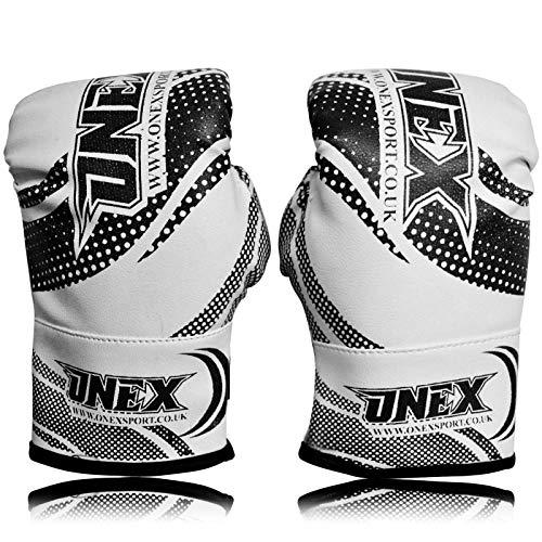 ONEX Guantoni da Boxe per Bambini Punzonatura dei Guanti Lotta di MMA Guanti Kickboxing Allenamento Arti Marziali Boxing Glove 2oz 4oz