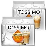 Tassimo Chai Latte, Pack of 2, 2 x 16 T-Discs (16 Servings)