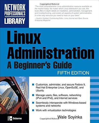 Linux Administration: A Beginner's Guide, Fifth Edition by Wale Soyinka (2008-09-23) par Wale Soyinka
