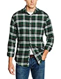 Redford Herren Freizeit Hemd Slim Fit, Grün (grün 03), XXL (Herstellergröße: 45/46)