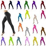 Kids Children Girls Stirrup Leggings Sports School Dance Ballet or Gymnastics Tights