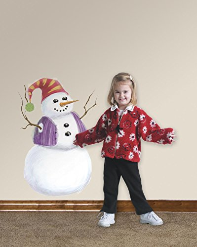 WALL STICKERS BUILD A SNOWMAN (JAPAN IMPORT)