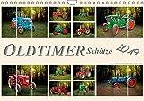 Oldtimer Schätze. Ein Traktoren-Kalender (Wandkalender 2019 DIN A4 quer): Nostalgische Traktoren - Oldtimer Schätze, von vielen geliebt und immer ... 14 Seiten ) (CALVENDO Technologie)