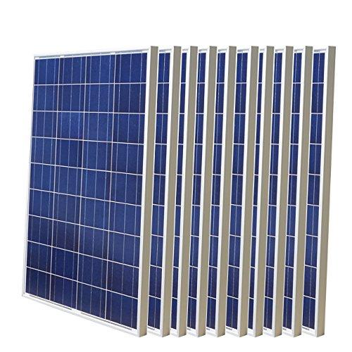 Especificaciones: panel solar de 100 W. Potencia relativa: 100 W. Voc: 22,41 V. Vop: 17,9 V. Corriente de cortocircuito (Isc): 6,2 A. Corriente de trabajo (Iop) 5,59 A tolerancia de salida: ¡À3% Coeficiente de temperatura de Isc: (010+/- 0.01)%/¡æ. C...