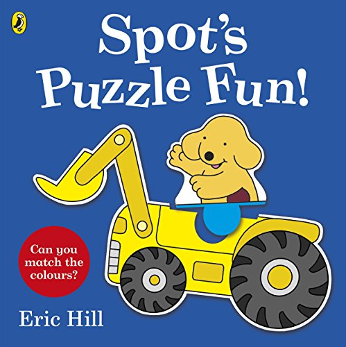Spot's Puzzle Fun!: Press-out and Play Book (Spot Press Out & Play Book) - Hund Puzzle Saw Jig