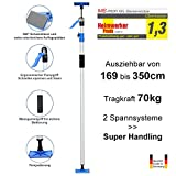 PROFI XXL Deckenstütze - Schnellspann-Stütze - Baustütze - 1.690-3.500mm - Tragkraft 70 kg - Made...