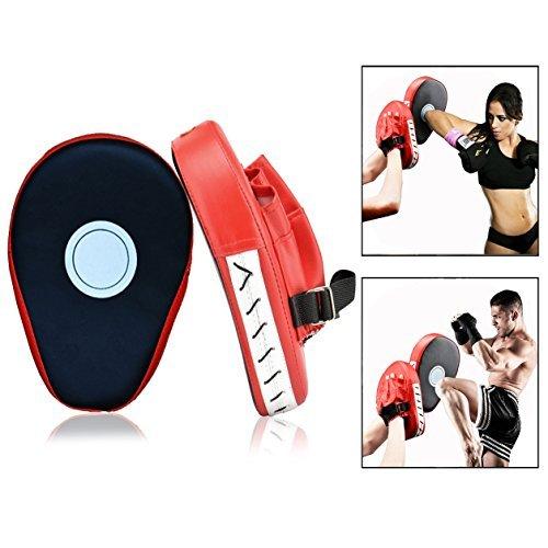 Itian 1 Paar Kickboxen Boxen Kickboxen Muay Thai Sparring Stanzen Mitts Handpratzen Trainerpratzen Schlagpratzen Coaching