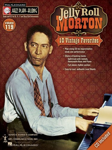Jelly Roll Morton: 10 Vintage Favorites [With CD (Audio)] (Hal Leonard Jazz Play-Along) by Mark Taylor (Arranger), Jelly Roll Morton (Recorder) ᅵ Visit Amazon's Jelly Roll Morton Page search results for this author Jelly Roll Morton (Recorder) (1-Jun-2010) Paperback