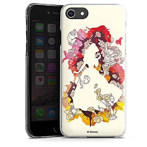Apple iPhone 8 Plus Tasche Hülle Flip Case Disney Belle Die Schöne und das Biest Hard Case transparent