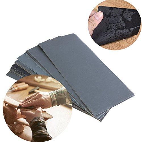 Schleifpapier Set, 36 Stück 400 to 3000 Grit Schleifpapier Sortiment Trocken/Nass Für...