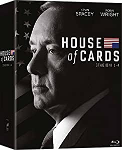 House of Cards: Stagioni 1-4 (Cofanetto 16 Blu-Ray)