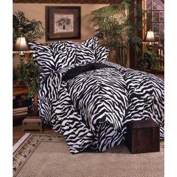 Zebra–Bettwäsche komplett Set–Extra Lang Twin (Extra Lange Twin Bettwäsche-sets)
