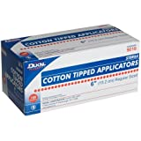 First Aid Only Dukal Cotton Tipped Applicators, 6', Sterile, 100-Count Boxes (Pack Of 2)