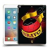 Head Case Designs Bravo Fussball Ole Ruckseite Hülle für Apple iPad 9.7 (2017)