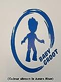Guardians of the Galaxy Autocollant bébé Groot inspiré mural fenêtre Miroir en vinyle