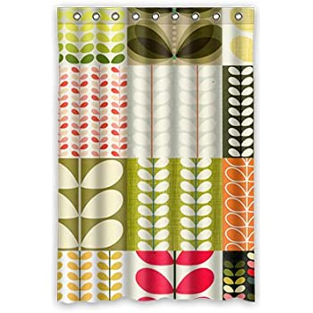 Personal Custom Orla Leaves Kiely Shower Curtain Polyester 120cm X 183cm