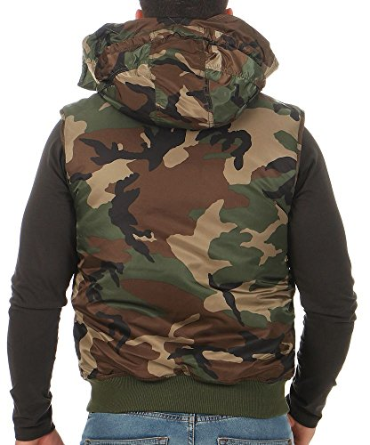 Alpha Industries Herren Weste MA-1 Hooded 178132 wdl camo 65