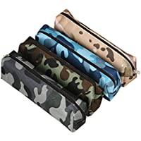 Beauty Case,Culater® 4 Colors Camouflage Pen Bag Pencil Case Pouch Stationery Cosmetic Makeup Bag