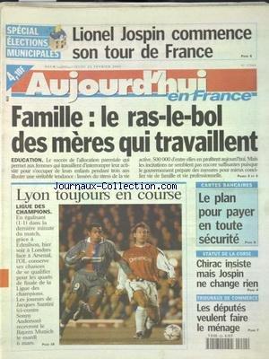 AUJOURD'HUI EN FRANCE [No 17564] du ...