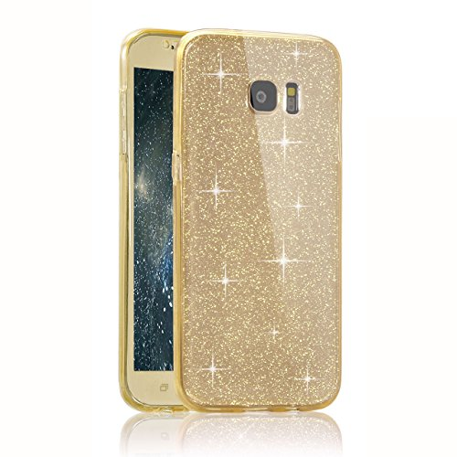 Samsung Galaxy S7 Custodia, Samsung Galaxy S7 Cover, Bonice Ultra Sottile PC Hard Back Antiurto Shock-Absorption Durable Case Elefante + 1x Protezione Dello Schermo Screen Protector Pattern 16