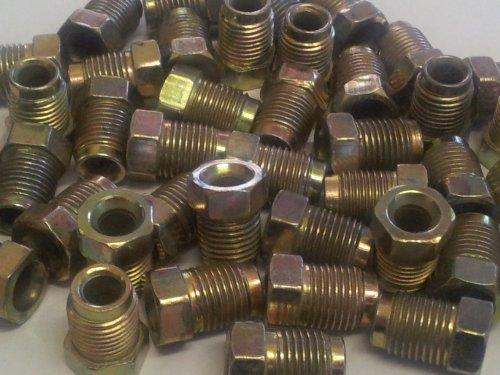 Confezione da 100dadi Tubo Freno maschio 10mm x 1mm