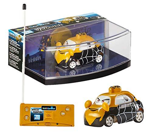 Revell 23538 Mini Car Vampir-ferngesteuertes 27 MHz Fernsteuerung, Flexible Antenne, einfache handliche Steuerung für Kinder, Robustes RC Auto, aufladbar über Fernbedienung