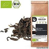 NATÜRLICH TEE - CHINA PU ERH BIO - PUERH TEE BIO / Biotee, Roter Tee, Pu'er, Pu-erh Organic - 100G
