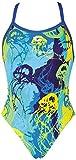Arena W Underwater One Piece L Costume da bagno, Blu (Royal/Royal), 42 IT