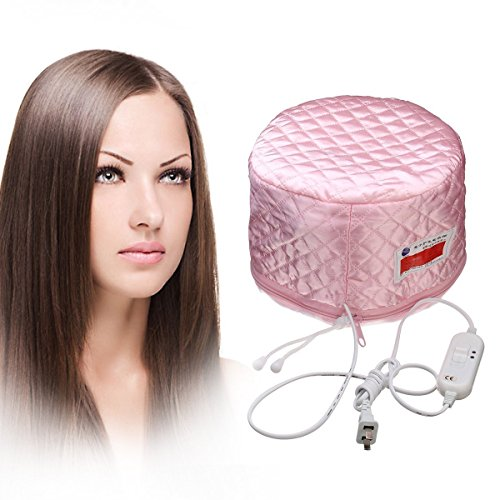 Wondersmit Hair Care Thermal Spa Treatment With New Beauty Steamer Nourishing Heating Head Cap  available at amazon for Rs.599