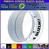 Suzuki Bandit GSX GSXR VSTROM Adhesivos para interior de llantas, código 0274