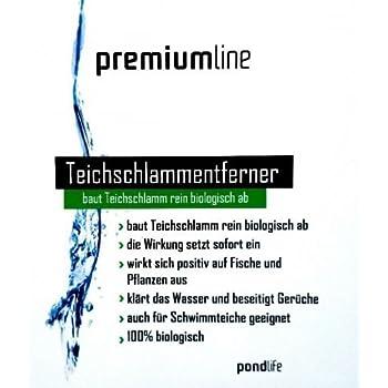 Pondlife teichschlammentferner 5kg f r liter for Fischteich algen entfernen