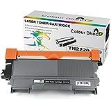 Colour Direct Compatible Toner Cartridge Replacement For Brother TN2220 - HL-2240 HL-2240D HL-2250DN HL-2270DW HL-2130 HL-2132 DCP-7060 DCP-7065DN DCP-7060D DCP-7070DW DCP-7055 MFC-7360N MFC-7860DW MFC-7460DN MFC-7460N Printers2600 Pages