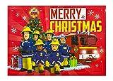 ZUNTO feuerwehrmann sam weihnachtskalender Haken Selbstklebend Bad und Küche Handtuchhalter Kleiderhaken Ohne Bohren 4 Stück