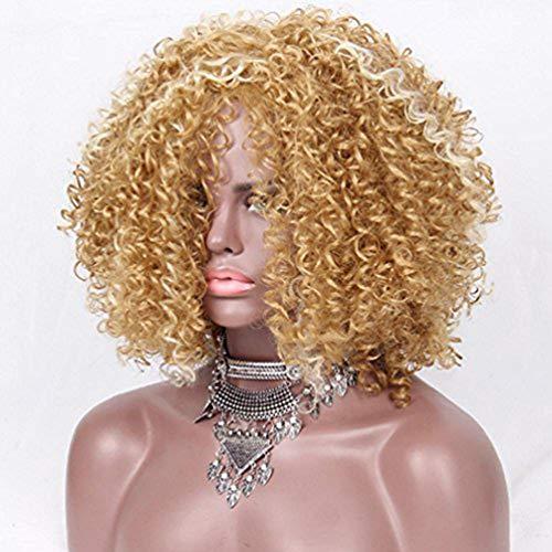 Blonde adultos peluca pelucas mujer degradado rubio