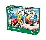 Brio 33208 - Straßen und Schienen Kran Set