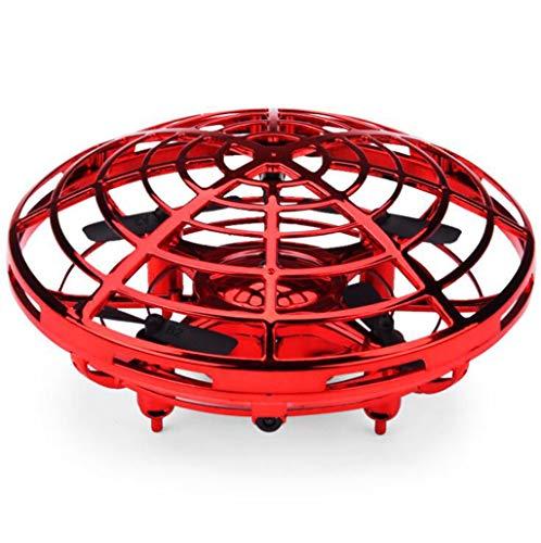 CMDDYY Juguetes, nuevos y extraños Gestos, Mini Quadcopter Drone, Padre-niño platillo Volador Interactivo,Red